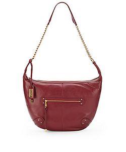 Badgley Mischka | Mila Leather Shoulder Bag
