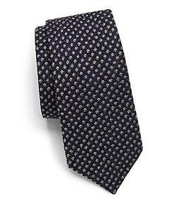 Canali   Wool Blend Tie