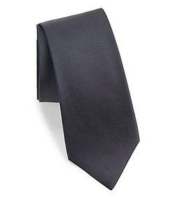 John Varvatos | Solid Silk Tie