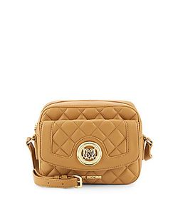 Love Moschino | Quilted Faux Leather Crossbody Bag