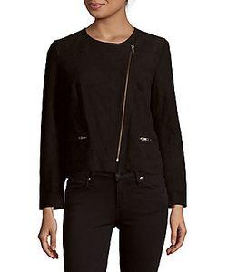 Sandro | Vanity Asymmetrical Leather Jacket