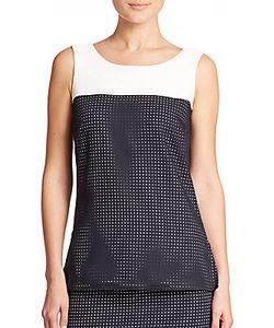 Akris | Perforated Tank Top