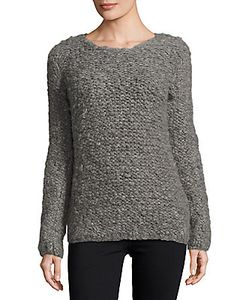 Valentino | Solid Knit Long-Sleeve Sweater