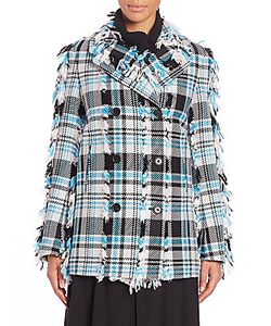 Creatures Of The Wind | Joko Fringed Plaid Coat