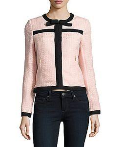 Karl Lagerfeld | Tweed Textured Jacket