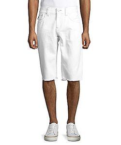 True Religion | Frayed Cotton Shorts