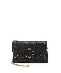 Halston Heritage | Halston Leather-Blend Crossbody Bag