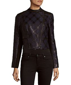 Yigal Azrouel | Cropped Front-Zip Jacket