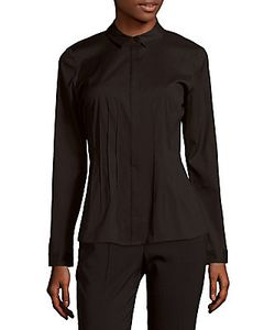 Lafayette 148 New York | Tucked Buttoned Blouse