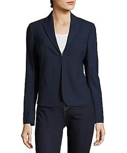 Akris | Shiloh Wool-Blend Peak-Lapel Jacket