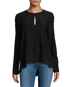 Narciso Rodriguez   Matte Georgette Top