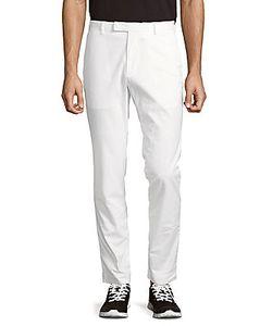 Polo Ralph Lauren   Solid Cotton Slim-Fit Pants