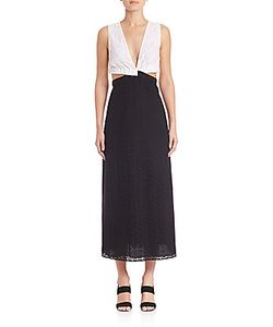 Thakoon | Banded Two-Tone Lace Dress