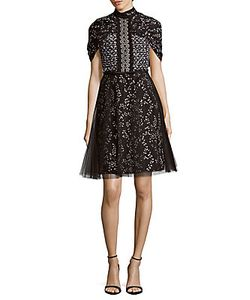 Giambattista Valli | Embroidered Tulle Dress