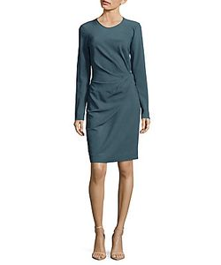 Lanvin | Solid Ruched Dress