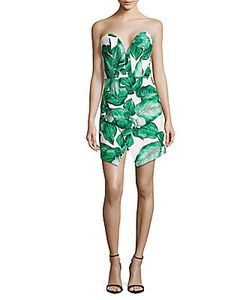 C/Meo | Palm Leaf Printed Dress
