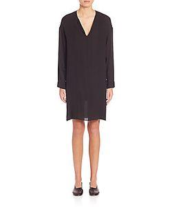 Vince | Silk Pintuck Dress