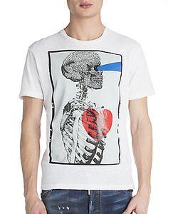 Viktor & Rolf | Skull Profile Heart T-Shirt