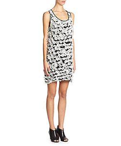 Tess Giberson   Laser-Cut Applique Dress
