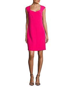 Karl Lagerfeld | Soft V-Neck Cap-Sleeve Dress