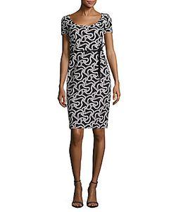 Max Mara   Two-Tone Printed Dress