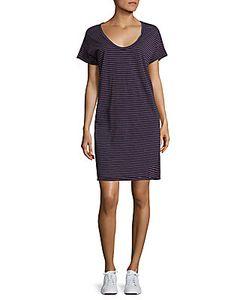 Current/Elliott | Striped T-Shirt Dress