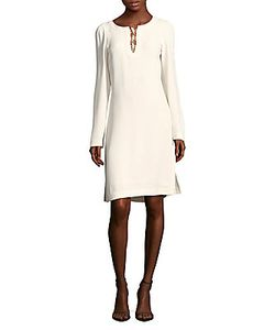 Derek Lam | Solid Long-Sleeve Dress