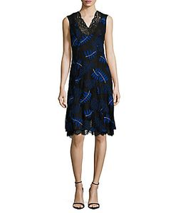 Yigal Azrouel | Ferns Embroidered Sleeveless Dress