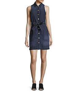 J Brand | Belted Denim Dress