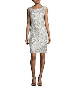Calvin Klein | Sequined Sleeveless Dress