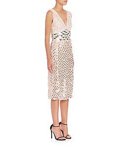 Altuzarra   Genevieve Chiffon Paillette Dress
