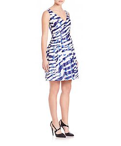 Prabal Gurung | Printed Fil Coupe Cocktail Dress