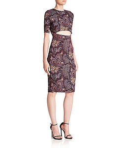 Suno | Printed Cutout Dress