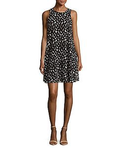 Calvin Klein | Printed Sleeveless Dress