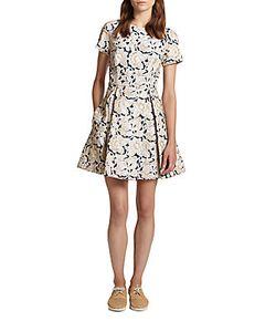 Suno   Embroidered Dress
