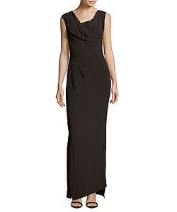 Vivienne Westwood | Solid Ruched Sleeveless Dress