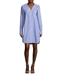 Rag & Bone | Striped Cotton Shirtdress
