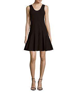 Derek Lam   Godet Cotton-Blend Flared Dress