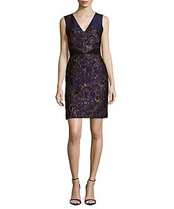 J. Mendel | Printed Sleeveless Dress