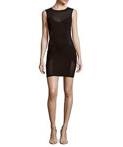 Pierre Balmain | Solid Sleeveless Paneled Dress
