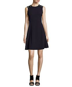 Calvin Klein | Crewneck Sleeveless Dress