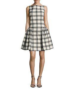 Vivienne Westwood   Plaid Drop-Waist Dress