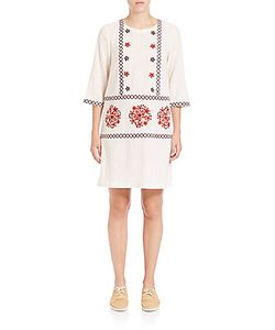 Suno | Embroide Shift Dress
