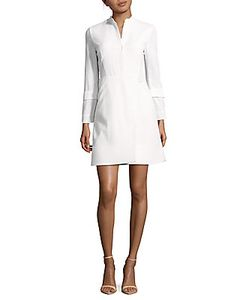 Akris | Textured Cotton Shirtdress