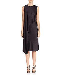 Jason Wu | Asymmetrical-Ruffle Sleeveless Dress