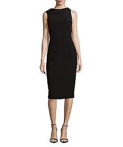 Michael Kors Collection | Folded Collar Dress