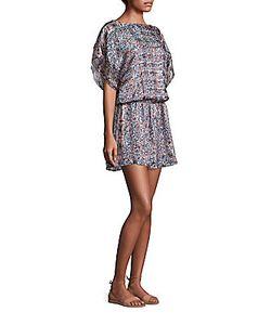 Joie | Sofinne Silk Blouson Dress