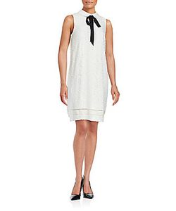 Karl Lagerfeld | Sleeveless Lace Embroidered Dress