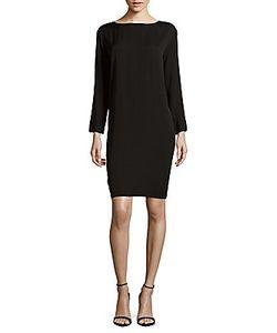 Helmut Lang | Solid Long-Sleeve Dress