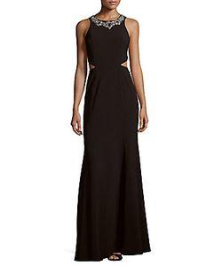 Marchesa Notte | Cutout Floor-Length Dress